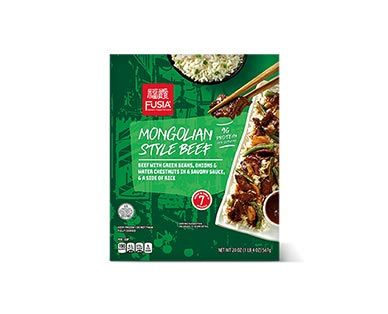 Fusia Asian Inspirations Mongolian Beef or Sweet & Sour Chicken Skillet View 1