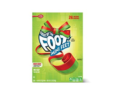 Betty Crocker Fruit by the Foot Merry Berry Mini Feet View 1