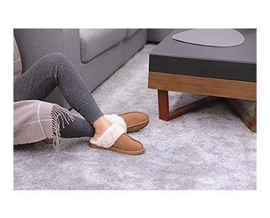 Royal Class/Serra Men's or Ladies' Genuine Suede Slippers View 4