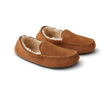 Royal Class/Serra Men's or Ladies' Genuine Suede Slippers View 1
