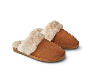 Royal Class/Serra Men's or Ladies' Genuine Suede Slippers View 2