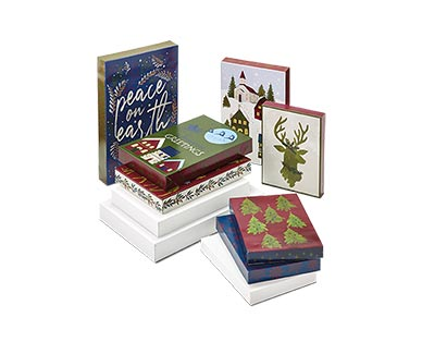Merry Moments 10-Pack Holiday Gift Boxes View 1