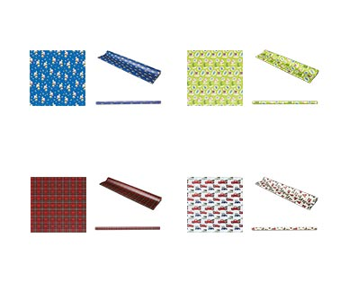 Merry Moments Heavyweight Gift Wrap View 3