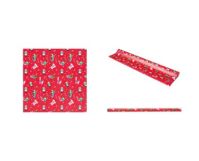 Merry Moments Heavyweight Gift Wrap View 4
