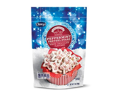 Clancy's Dipped Peppermint Pretzel Stars View 1
