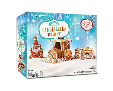 Benton's Gingerbread Train Kit View 1