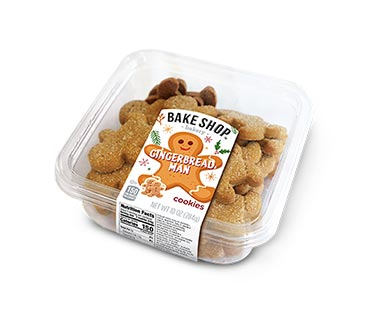 Bake Shop Gingerbread Man Cookies View 1