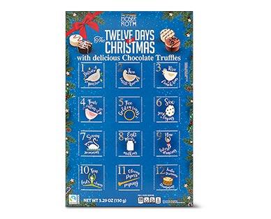 Moser Roth 12 Days of Christmas Advent Calendar View 1
