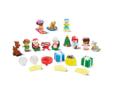 Mattel Barbie or Little People Advent Calendar View 2