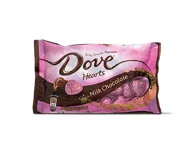Dove Promises Milk Chocolate Hearts View 1