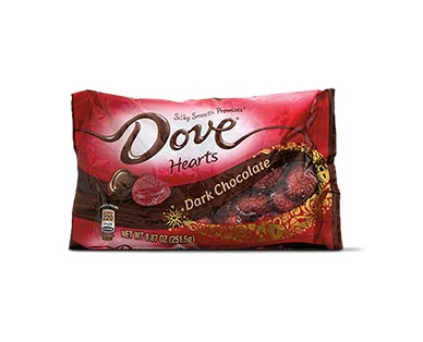Dove Promises Dark Chocolate Hearts View 1