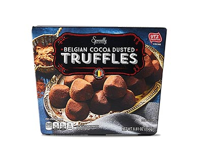 Specially Selected Belgian Cocoa Dusted Truffles View 1