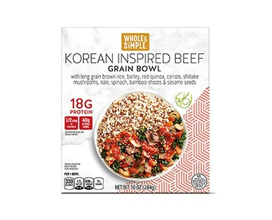 Whole & Simple Adobo Chicken or Korean Inspired Beef Power Bowl View 2