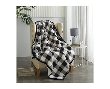 "Huntington Home 60"" x 70"" Feather Soft Throw View 2"