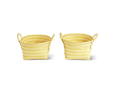 Huntington Home Zig Zag Storage Basket View 2