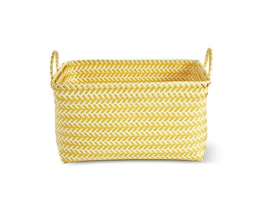 Huntington Home Zig Zag Storage Basket View 4