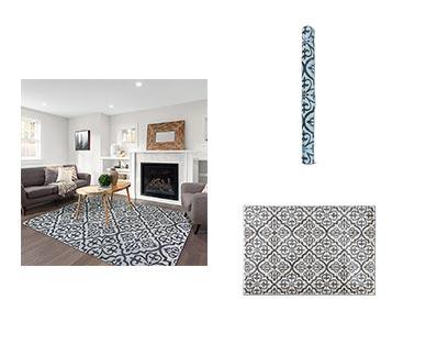 "Huntington Home 6'6"" x 9' Carved Area Rug View 3"