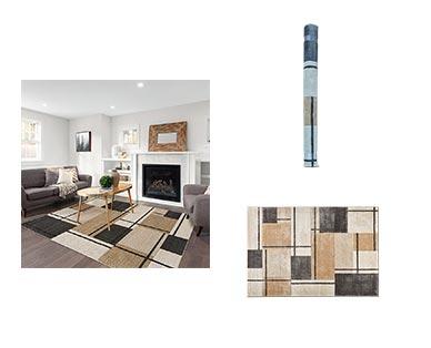 "Huntington Home 6'6"" x 9' Carved Area Rug View 5"