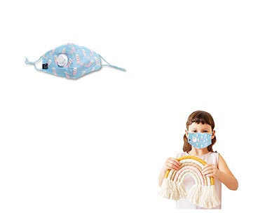 Kids Fashion Mask with Valve View 3