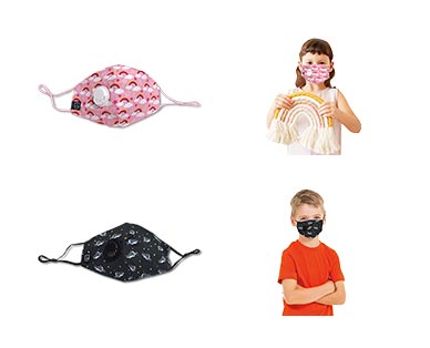 Kids Fashion Mask with Valve View 4