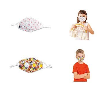 Kids Fashion Mask with Valve View 5