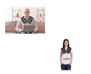 Visage Massaging Heat Wrap View 3