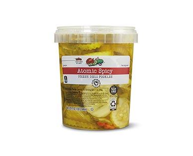 Park Street Deli Fresh Pickles Assorted Varieties Atomic Spicy