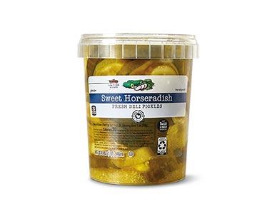 Park Street Deli Fresh Pickles Assorted Varieties Sweet Horseradish