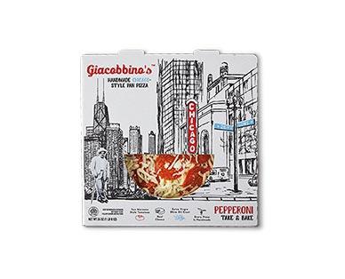 "Giacobbino's 10"" Pepperoni Deep Dish Deli Pizza"