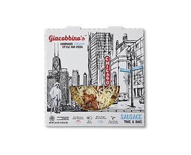 "Giacobbino's 10"" Sausage Deep Dish Deli Pizza"