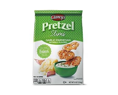 Clancy's Garlic Parmesan Pretzel Slims