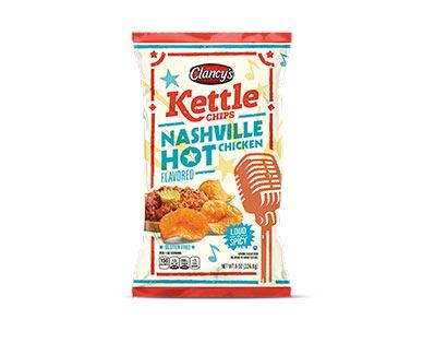 Clancy's Nashville Hot Chicken Kettle Chips