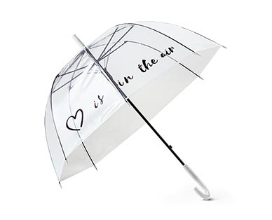 Serra Ladies' Fashion Umbrella Clear Bell