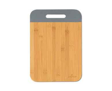 Crofton Color-Dipped Wood Board Rectangle Gray
