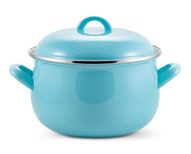 Crofton 4-Quart Casserole Blus Speckled