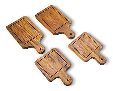 Crofton Mini Wooden Serving Set Square/Rectangle View 1