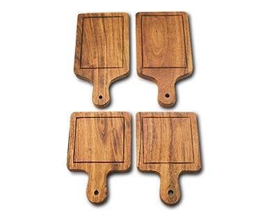 Crofton Mini Wooden Serving Set Square/Rectangle View 2