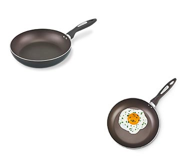 Crofton Spring Fry Pan Brown In Use