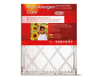 DuPont Allergen Air Filter View 1