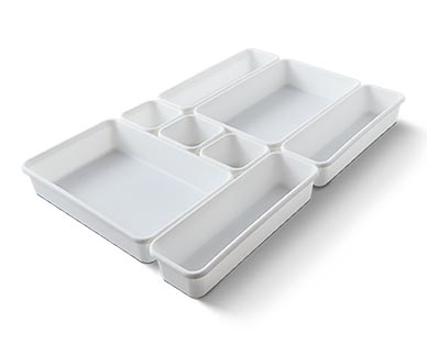 Easy Home Kitchen Drawer Organizers View 1
