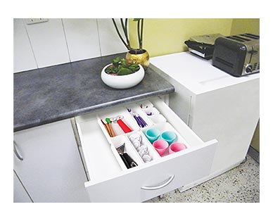 Easy Home Kitchen Drawer Organizers View 2