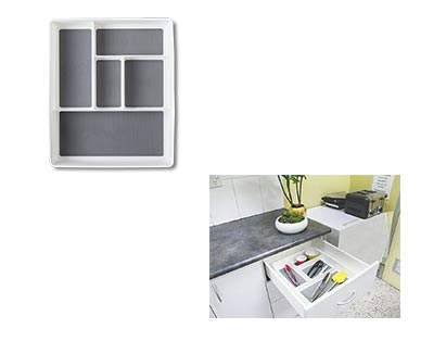 Easy Home Kitchen Drawer Organizers View 3