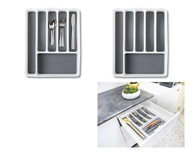 Easy Home Kitchen Drawer Organizers View 5