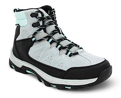 Adventuridge Men's or Ladies' Hiking Boots Gray/Aqua