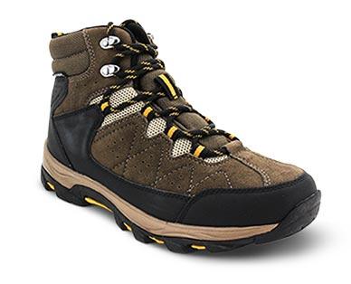 Adventuridge Men's or Ladies' Hiking Boots Brown/Black