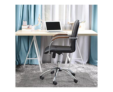 Huntington Home 3' X 4' Office Chair Mat In Use View 2