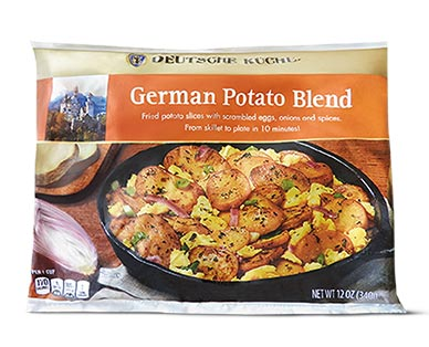 Deutsche Küche Warm Potato Salad