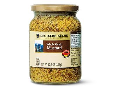 Deutsche Küche European Mustard Whole Grain