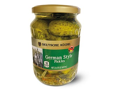 Deutsche Küche German Style Pickles