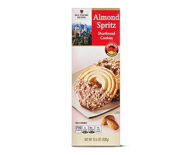 Deutsche Küche Spritz Cookies Almond